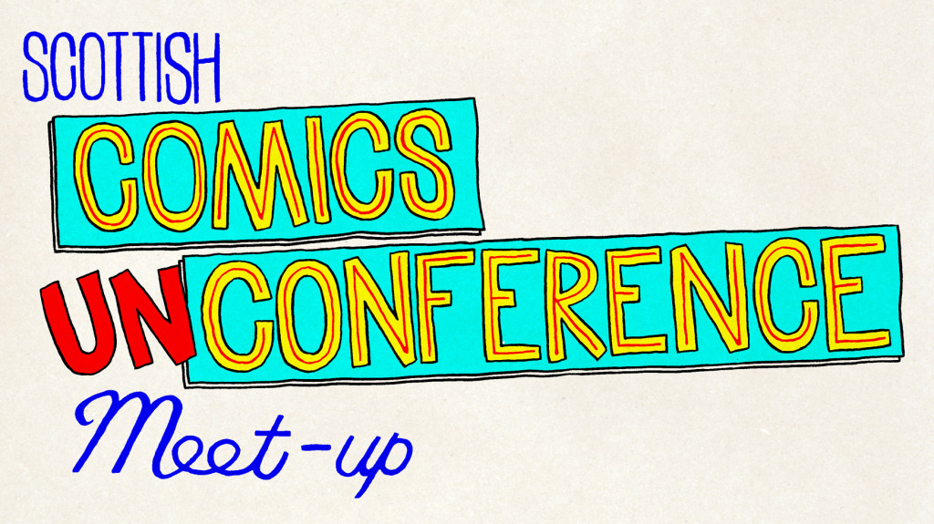 Scottish Comics Unconference Meet-up logo